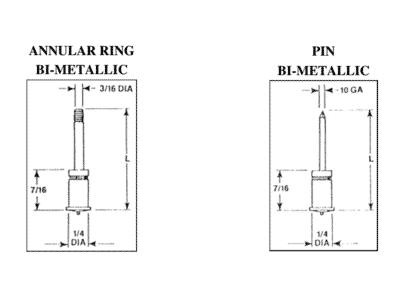 Bimetallicstud drawing